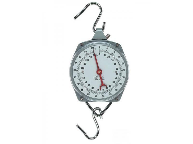 Guľatá závesná váha s ciferníkom do 100kg