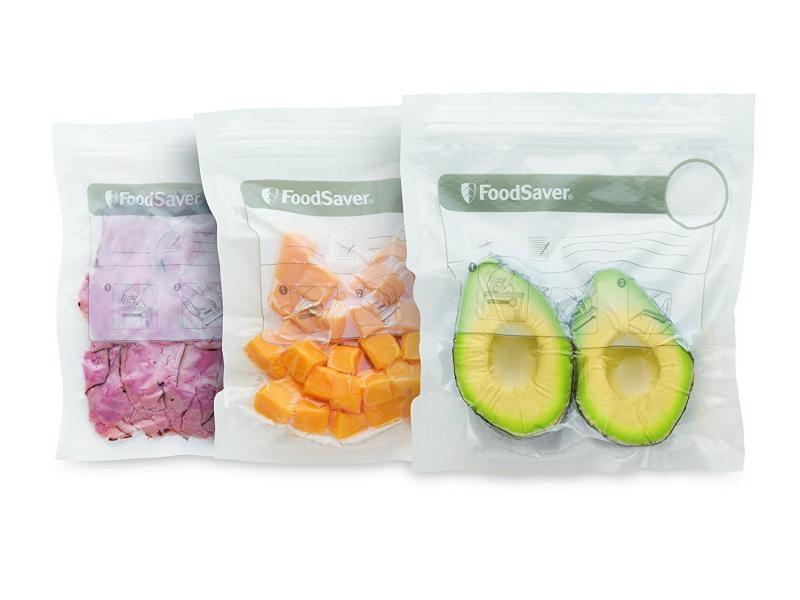 Sáčky so zipsom pre vákuovačku FoodSaver FFS010X-01