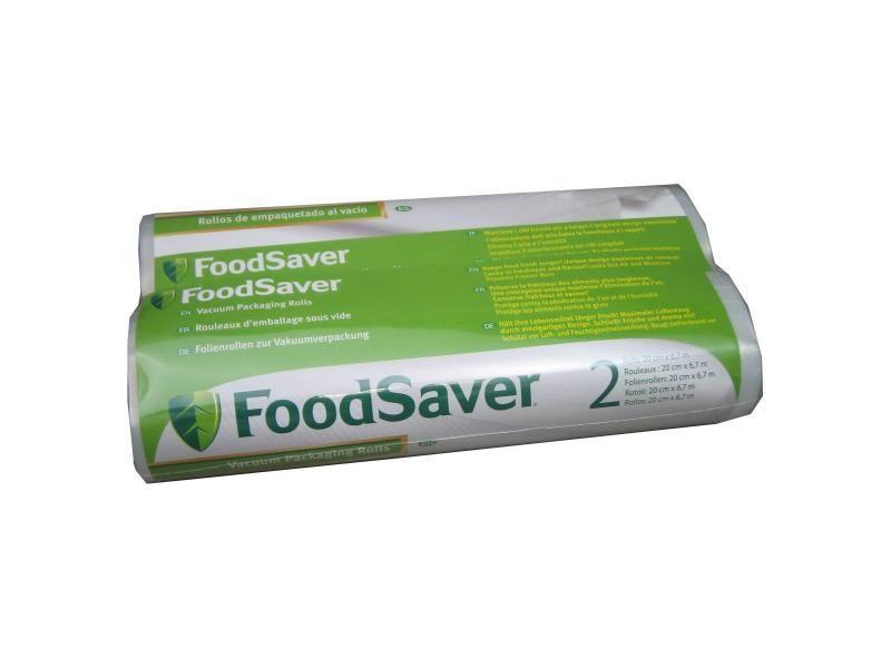 Sada fólií pre vákouvé baličky potravín FoodSaver 2x rolka 20cm