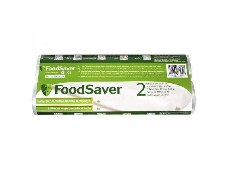 Sada fólií pre vákuové baličky potravín 2xrolka 28cm
