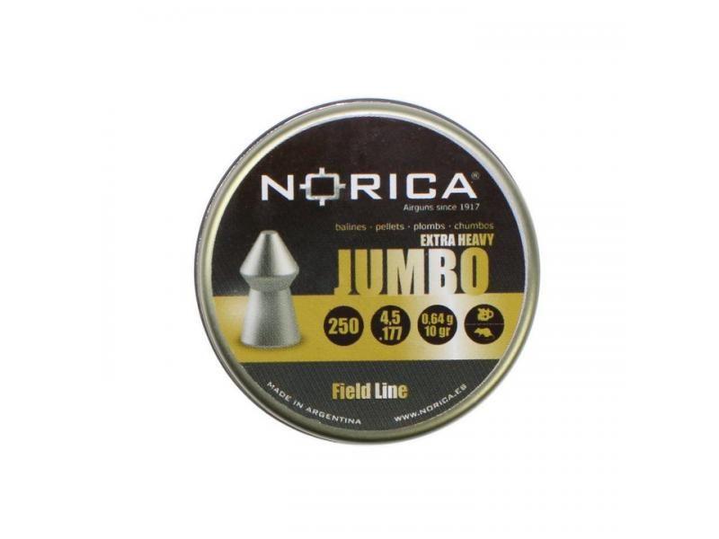 Diabolky NORICA JUMBO EXTRA HEAVY 4,5mm 250 ks