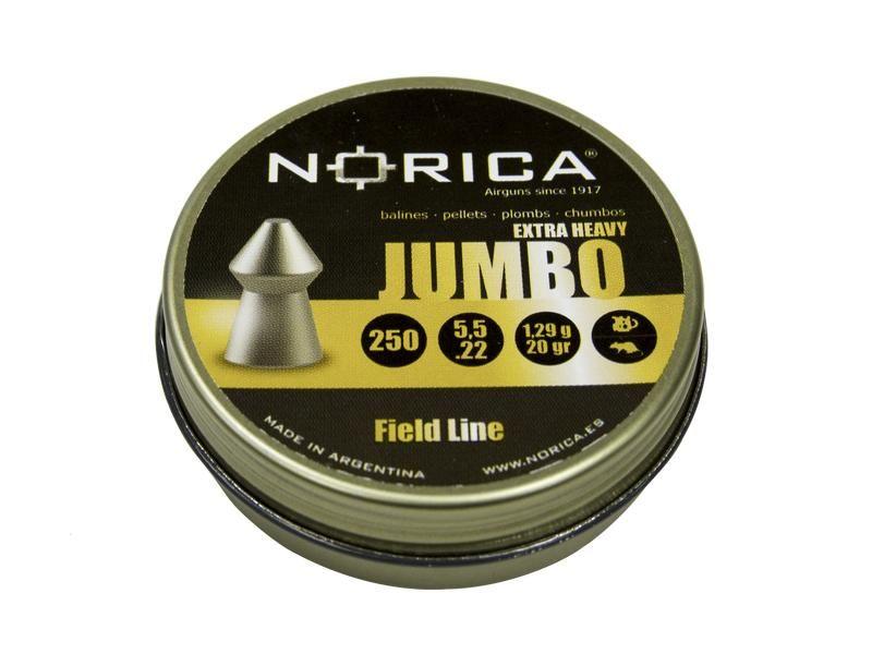 Diabolky NORICA JUMBO EXTRA HEAVY 5,5mm 250 ks