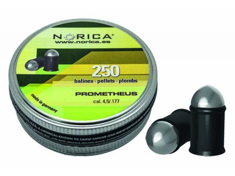 Diabolky plastové NORICA Prometeus 4,5mm 250ks