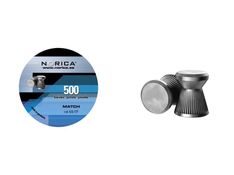 Diabolky ploché NORICA Match 4,5mm 500ks