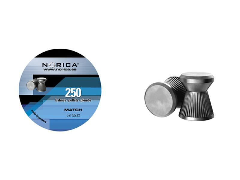 Diabolky ploché NORICA Match 5,5mm 250ks