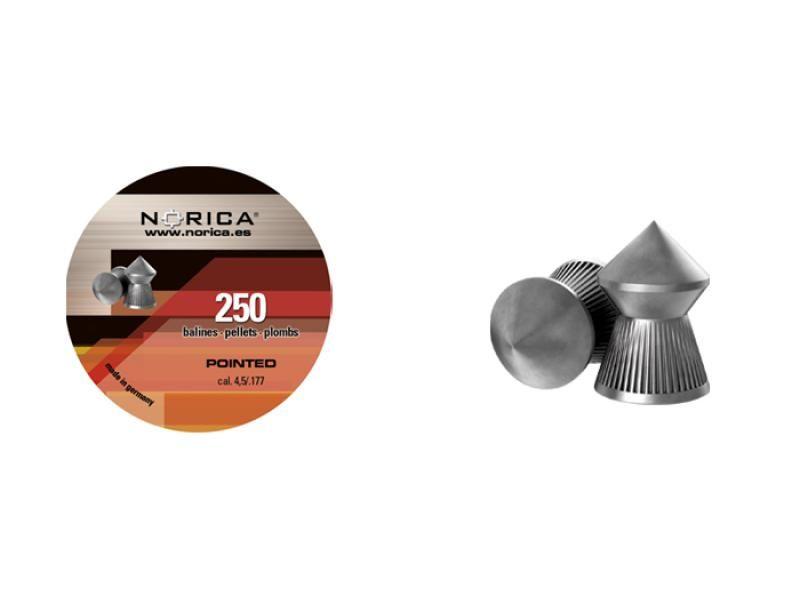 Diabolky špicaté NORICA Pointed 4,5mm 250ks