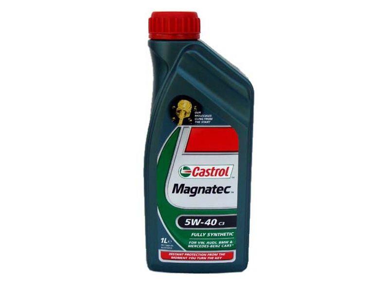 Motorový olej CASTROL MAGNATEC 5W-40 NA CELOROČNÚ PREVÁDZKU