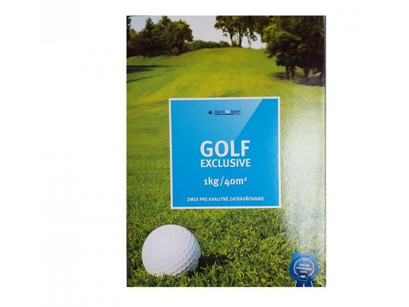 Tráva Golf Exclusive AGT jemná, dekoračná, nízka, 1kg