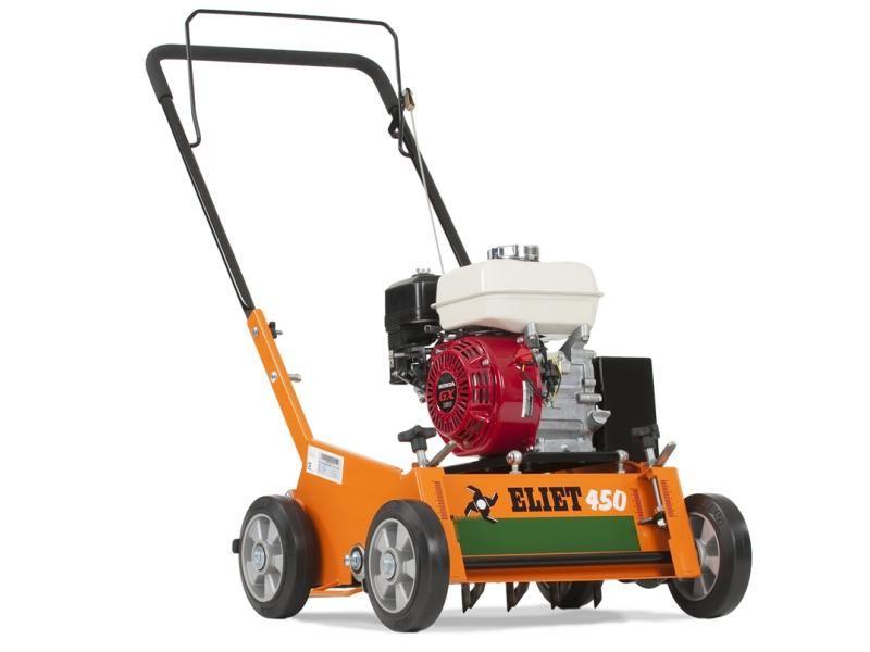 Vertikutátor ELIET E450 (Honda, 6.0 HP)